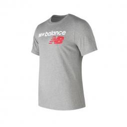 Tee shirt a manches courtes new balance nb athletics main logo tee s