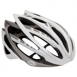 BELL Helmet GAGE Stripes White Grey