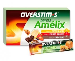 OVERSTIMS Assortiment de 6 barres énergétiques AMELIX