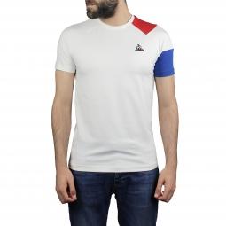 Tee shirt a manches courtes le coq sportif tri lf bbr tee s