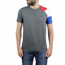 Tee shirt a manches courtes le coq sportif tri lf bbr tee xs