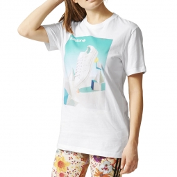 tee shirt mode Adidas Originals Shoe Photo Tee