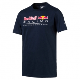 Tee shirt manches courtes puma red bull racing logo tee f1 s