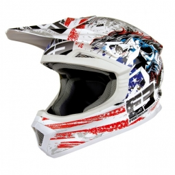SHOT FREEGUN US FURIOUS Helmet White