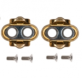 Crankbrothers cales premium reduced float 0 x2 la paire