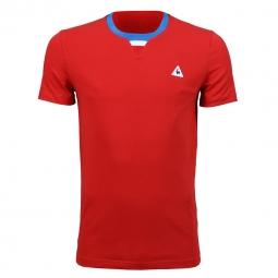 Tee shirt a manches courtes le coq sportif tri lf na 2 m