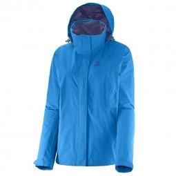 Veste coupe vent de randonnee salomon elemental ad jacket w xs