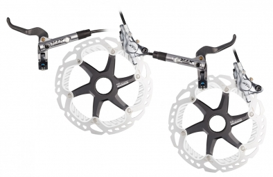 Shimano 2014 XTR M987 Pair of brakes I-Spec B + discs XTR 160 mm Centerlock