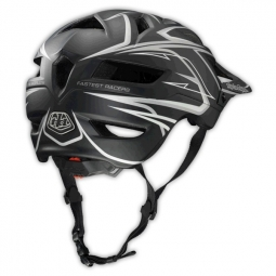 Casco Troy Lee Designs A1 Turbo Negro