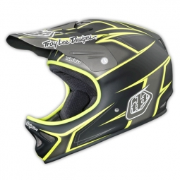Casque intégral Troy Lee Designs D2 TURBO Gris