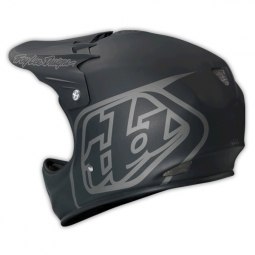 Casque intégral Troy Lee Designs D2 MIDNIGHT II Noir