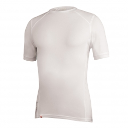 endura sous maillot transmission ii manches courtes blanc xl