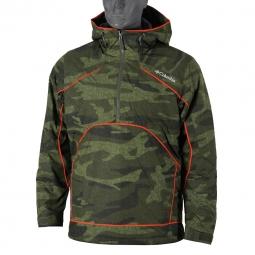 Veste de pluie columbia antler falls iii pullover jacket xs