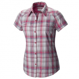 Chemise Columbia Silver Ridge multi plaid S/S shirt