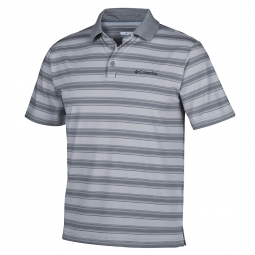 Polo manches courtes columbia big smokea ii stripe s