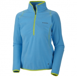 Tee-shirt manches longues Columbia Summit rush half zip