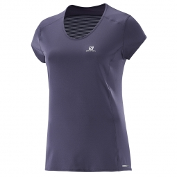 Tee shirt de sport Salomon Comet Plus SS Tee W