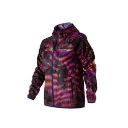 Veste coupe vent new balance windcheater printed jacket xs