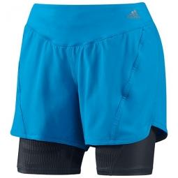 adidas Short ADISTAR 2en1 Femme