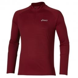 Tee shirt manches longues asics ls 1 2 zip top xxl