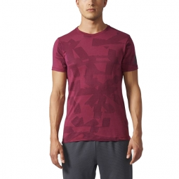 Tee shirt a manches courtes adidas performance freelift elite l