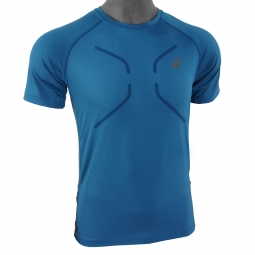 Tee shirt manches courtes asics fujitrail ultra top s