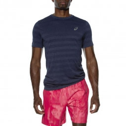 Tee shirt de running asics fuzex seamless tee xxl