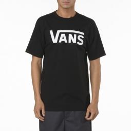 vans t shirt manches courtes classic noir m