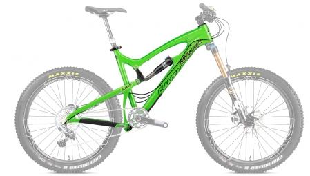 SANTA CRUZ 2014 Frameset Nomad Carbon 26'' Fox CTD 160mm Green Black