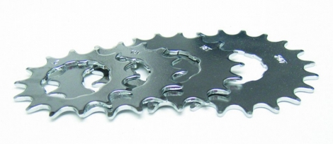 Pignon Single Speed Gusset Micro Argent