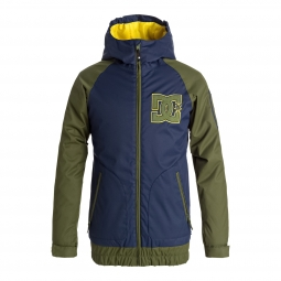 Veste de ski dc shoes troop youth 14 16 ans