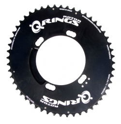 rotor plateau q rings aero exterieur bcd 110mm 4 branches shimano 50