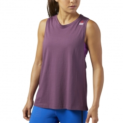 Tee-shirt à manches courtes Reebok Crossfit Sprayed Muscle Tank