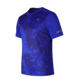 Tee shirt a manches courtes new balance max intensity short sleeve homme s