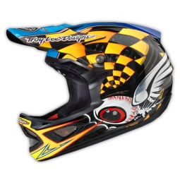 Casque intégral Troy Lee Designs FINISHLINE Jaune