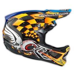 Casco integral Troy Lee Designs FINISHLINE Amarillo