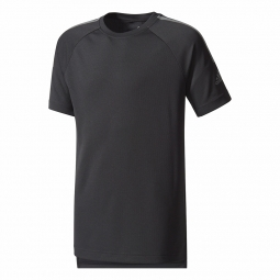 Tee shirt a manches courtes adidas performance yb training cool tee 11 12 ans