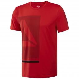 Tee-shirt à manches courtes Reebok Wor Prem Graph Tech