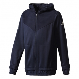Sweat shirt a capuche adidas performance yb ace fz hoodie 9 10 ans