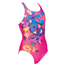 Maillot de bain 1 pia ce arena g bricks jr swim pro back one piece l 10 11 ans