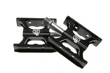 pedales plates blb track noir