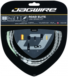 jagwire kit complet cables gaines road elite link freins argent
