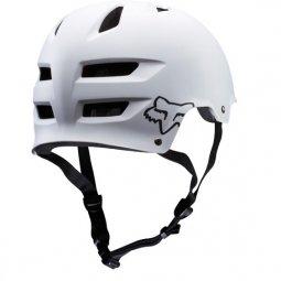 Casque bol Fox TRANSITION HARD SHELL Blanc mat