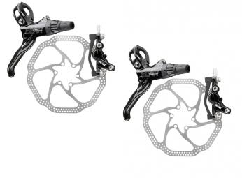 AVID 2013 Disc Brakeset ELIXIR 9 Trail + 180/160mm HS1 Black