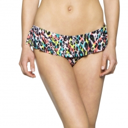 Image of Bas de maillot o neill pineapplefest ruffle bottom 40