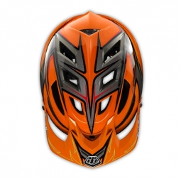 Casque Troy Lee Designs A1 Turbo 2014 Orange