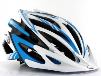BELL Helmet  VOLT White Blue Matt