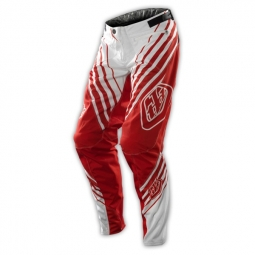 TROY LEE DESIGNS Pantalon Enfants SPRINT CAMBER Rouge Blanc