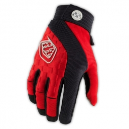 troy lee designs paire de gants longs sprint rouge s