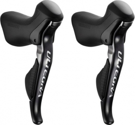 Shimano Ultegra 6870 Di2 Levers 2x11 Speed Black (Pair)